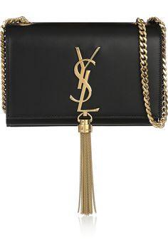 Saint Laurent | Monogramme small leather shoulder bag | NET-A-PORTER.COM