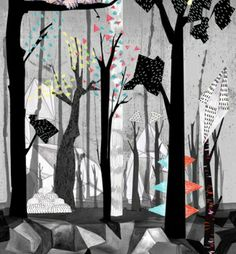 The work of illustrator Sandra Dieckmann