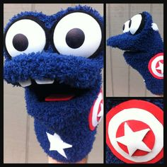 Superhero Sock Puppets - Jamil Ammar Makes Adorable Surly Hand Puppets (GALLERY)
