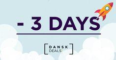 - 3 ! It's a final countdown! #finalcountdown #music Dansk.Deals https://youtu.be/9jK-NcRmVcw