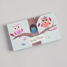 One of my favorite discoveries at WorldMarket.com: Owls Pop-Up Sticky Notes