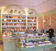 The enticing interior of Miette bakery :)