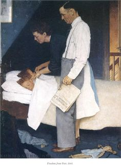 Freedom from Fear - Norman Rockwell - 1943