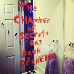 Don't Forget the Chamber of Secrets