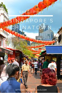 Singaporean's LOVE to eat. What better way to experience the city by eating your way through Singapore's Chinatown!? | #Singapore #YourSingapore #Chinatown |