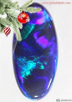 ALL I WANT FOR CHRISTMAS!! #BlackOpal #Gem #LightningRidge www.globalopals.com