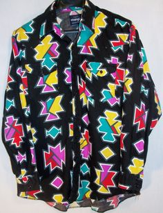 Wrangler Western shirt size XL long sleeve multi color 100% cotton cowboy rodeo  #Wrangler #Western