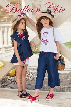 BALLOON CHIC SS 2018 Fashion Niños, Kids Fashion, Moda Junior, Kids Frocks, Baby Kind, Little Girl Fashion, Little Girl Dresses, Outfits For Teens, Kid Styles