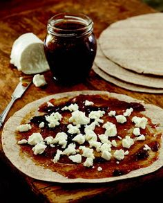 SPOON Fig and Goat Cheese Quesadillas
