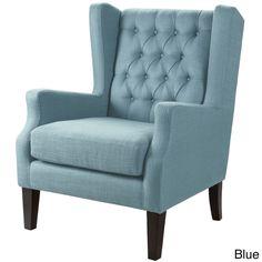 Madison Park Roan Chair--3 Color Options (30.375Wx30.5Dx39.75H-