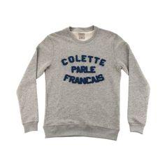"""BWGH + COLETTE - Sweatshirt """"colette Parle Français"""""""