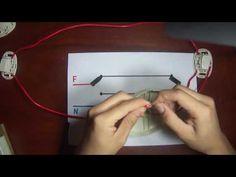Como conectar Interruptores de conmutación   Esquema , explicación y armado - YouTube
