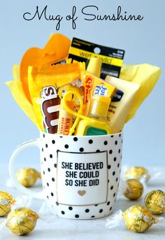 Brighten Someone's Day with a Mug of Sunshine #CelebrateAllSummer #ad