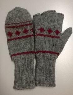 ISOLASSA: käsityöt Knitted Hats, Gloves, Knitting, Winter, Fashion, Winter Time, Moda, Tricot, Fashion Styles