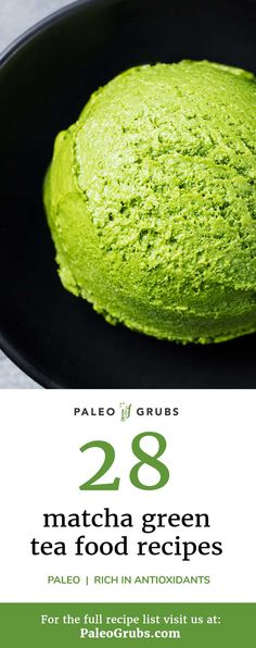 Matcha tea is one of my favorite drinks when I need a quick energy boost, and these matcha baked goods, desserts and snacks bring matcha to another level! So yummy and good for you. Good Healthy Recipes, Paleo Recipes, Healthy Snacks, Baking Soda Cleaner, Delicious Desserts, Dessert Recipes, Paleo Grubs, Green Tea Recipes, Matcha Green Tea