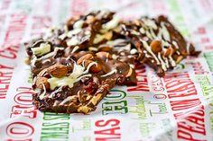Almond-Cherry Chocolate Bark 9