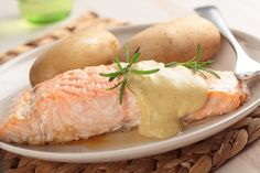 Mustard and Dill Baked Salmon