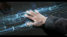 """press and hold, information """"leaving"""" your fingertips into the system. """"emitter/ source"""""""