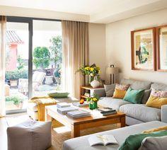 Stylish home decor Home Living Room, Living Room Designs, Living Room Decor, Stylish Home Decor, Living Room Inspiration, Interior Design, Furniture, Décor Ideas, Farmhouse Style