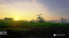 Photograph Sunrise with my bike by Abumessi Journey on 500px
