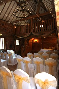 Ceremony with Fairy Light Canopy