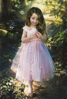 Robert Schoeller Festés: Little Girl Portrait Little Girl Portrait 171