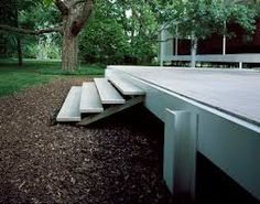 Farnsworth house between 1945 and 1951