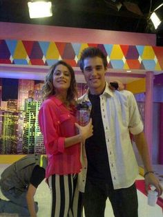 Jorge y Tini en The U Mix Show
