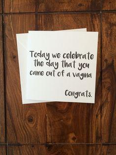 Geburtstagskarten, handgefertigte Karten, Karten zum Geburtstag, lustige Karte