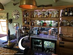 The Tootell Inn, Pub/Entertainment from Garden owned by Mark Tootell Backyard Shed Bar Ideas, Party Shed, Shed Of The Year, Pub Sheds, Garden Bar, Game Room, Man Cave, Entertaining, Mancave Ideas