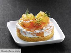 Smoked salmon cheesecake: discover the cooking recipes of Femme Actuelle Le MAG Pumpkin Cheesecake Recipes, Cupcake Recipes, Snack Recipes, Cooking Recipes, Cheesecake Cupcakes, Ceviche, Pumpkin Spice Cupcakes, Smoked Salmon, Fall Desserts