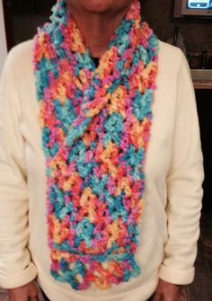 Scarf with collar