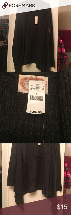 Long comfy sweater Never worn, still has tags! Wet Seal Sweaters Cardigans