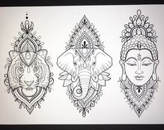 I have these designs available! Would love to tattoo them 💗🌸 black and grey or colour! 🌸💗 taking bookings for April ! Sponsored by… Buddha Tattoo Design, Buddha Tattoos, Elephant Tattoo Design, Mandala Tattoo Design, Elephant Tattoos, Tattoo Designs, Mandala Elephant Tattoo, Ganesha Tattoo Mandala, Disney Mandala Tattoo