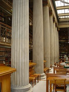 National Library of Athens, Greece Greek Beauty, Bookstores, Athens Greece, Greek Islands, Beautiful Islands, Museums, Galleries, Paradise, Museum