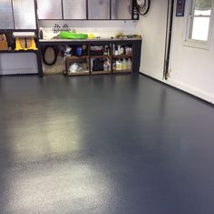 Finished - a Non-Slip Chemically Resistant Concrete Garage Floor