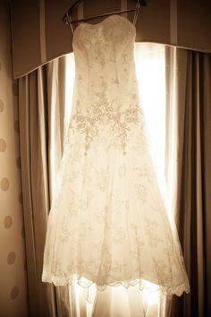 My wedding dress by Casablanca