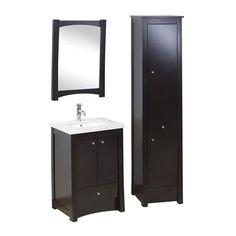 American Imaginations AI-170 Elite 32-in Wood Bathroom Vanity Set