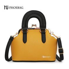 01854da52eea HJPHOEBAG Fashion women shoulder bag metal hasp PU leather feminine  handbags high quality new style ladies