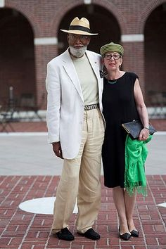 Bill and Eva, young or old--Love knows no color boundaries