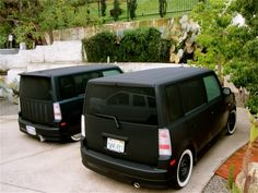 Matte Black with White Walls #StockTailLights #Matte #Boxed