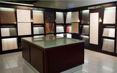 Retail showroom, slab gallery, tiles, porcelain, marble, stone