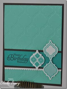 Mosaic Madness Birthday Card
