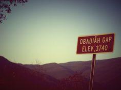 Along The Cherohala Skyway: The Great Smoky Mountains: North Carolina State Line