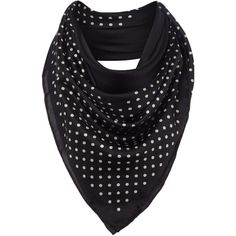 Lauren Ralph Lauren Tiffany polka dot silk square scarf (5,965 PHP) ❤ liked on Polyvore featuring accessories, scarves, black, lauren ralph lauren, silk shawl, square scarves, pure silk scarves and silk scarves