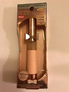 Physicians Formula Nude Wear Touch of Glow Stick, Nude Glow 6264 Glow Foundation, Drugstore Foundation, Drugstore Makeup Dupes, Beauty Dupes, Corrector Makeup, Cool Glow, Makeup Blender, Beauty Sponge, Urban Decay Eyeshadow