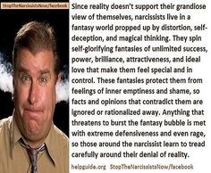 Burst their bubbble . experience their rage ! Narcissistic Behavior, Narcissistic Sociopath, Evil People, Toxic People, Magical Thinking, Narcissistic Personality Disorder, Toxic Relationships, Psychopath, Trauma
