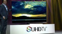 #Liveblog Señoras y señores Samsung presenta su nuevo y poderoso televisor SUHD. Las Vegas, Samsung, Tv Reviews, Flat Screen, Led, Image, Electronics, Internet Of Things, Television Set