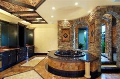 Tuscany Style Homes Estate Interior