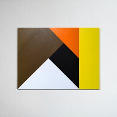 Hard-edged painting / geometric abstraction by British artist Gary Andrew Clarke Geometric Quilt, Abstract Geometric Art, Abstract Wall Art, Large Canvas Wall Art, Diy Canvas Art, Abstract Painting Techniques, Acrylic Pouring Art, Diy Artwork, Modern Wall Art